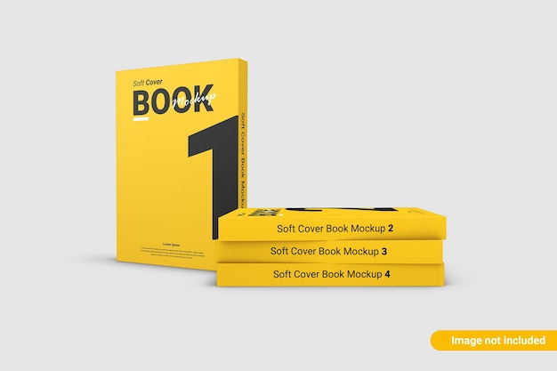 Gros plan sur la conception de maquette de couverture de livre