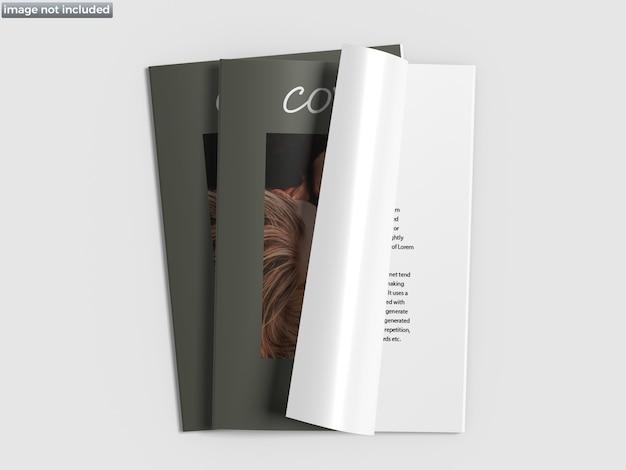 Gros plan sur la maquette de la couverture de la brochure