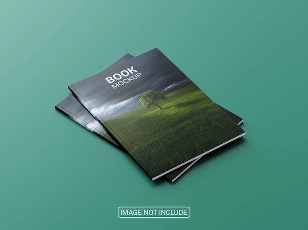Gros plan sur une maquette de magazine ou de brochure