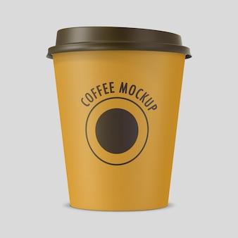 Gros plan sur une tasse de café en papier