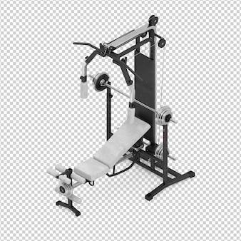 Gym isométrique