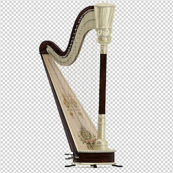 Harpe isométrique