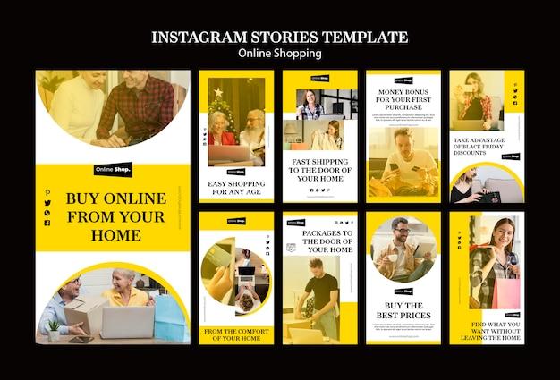 Histoires instagram avec cuisine à la maison