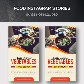 Histoires instagram culinaires