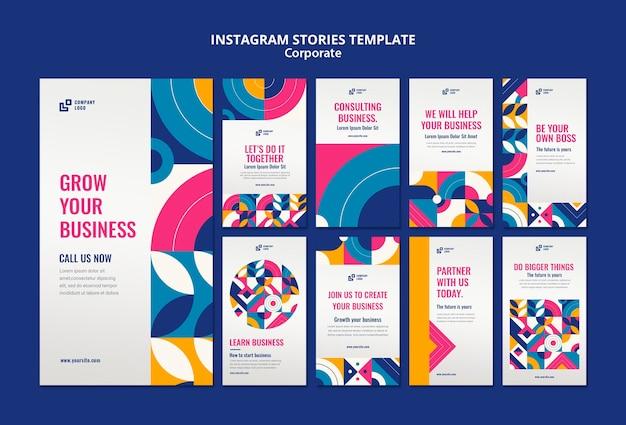 Histoires instagram d'entreprise