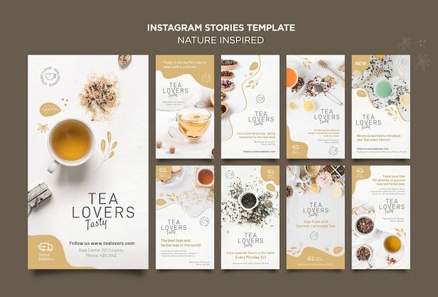 Histoires instagram inspirées de la nature