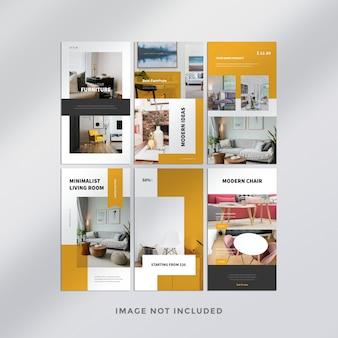 Histoires instagram de meubles