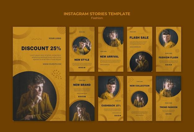 Histoires Instagram De Mode Psd gratuit