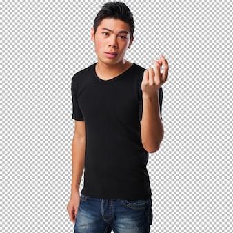 Homme chinois sans emploi