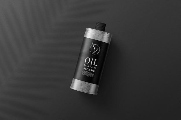 L'huile d'olive peut maquette