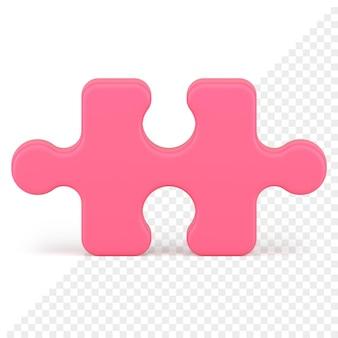 Icône 3d de puzzle
