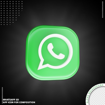 Icône d'application whatsapp pour la composition
