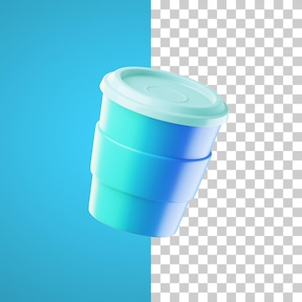 Icône de boisson illustration 3d