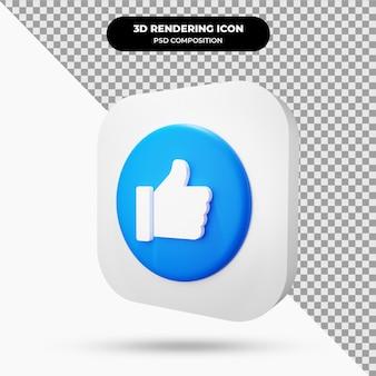 Icône comme objet 3d