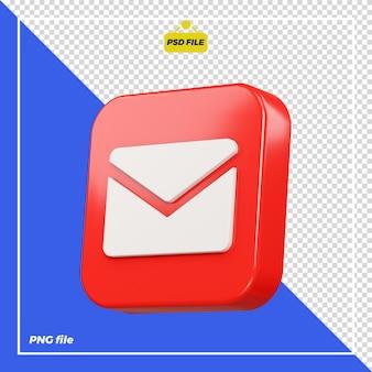 Icône de courrier 3d
