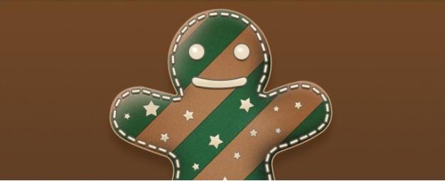 Icône gingerbread man