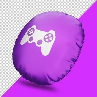 Icône de jeu de rendu 3d