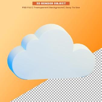 Icône rendu 3d psd premium