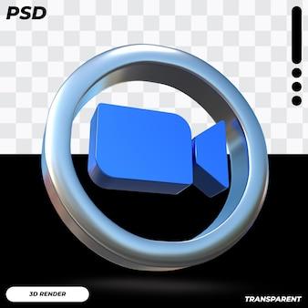 Icône de zoom 3d