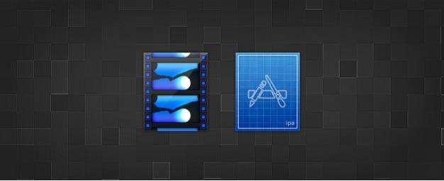. icônes mov et. remplacement iap