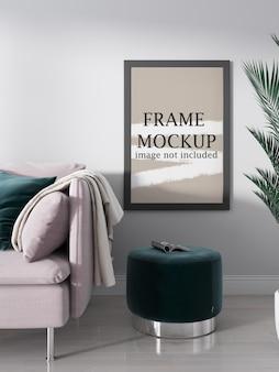 Idées de maquette de cadre photo épais