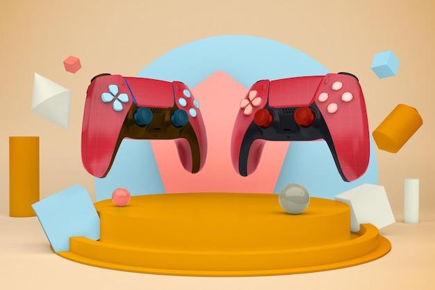 Illustration de la console
