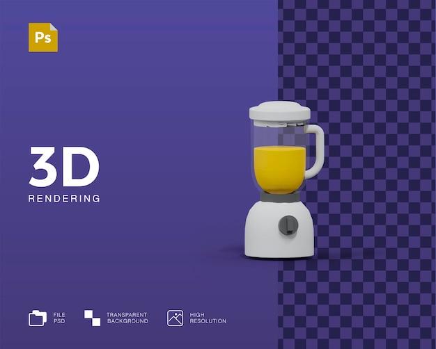 Illustration de mélangeur 3d