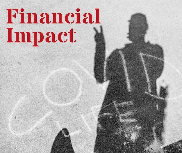 Impact financier lors de la maquette de la pandémie de coronavirus