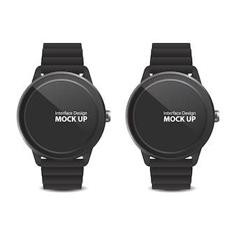 Interface d'affichage numérique pour smart watch