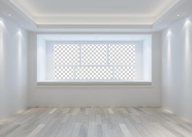 Intérieur de la pièce murale de la conception du salon de la maison