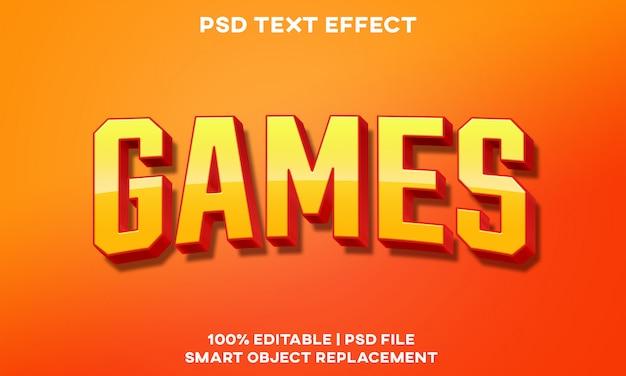 Jeux text effect