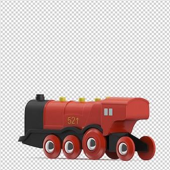 Jouet train isométrique
