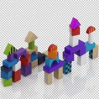 Jouets pour enfants isométriques