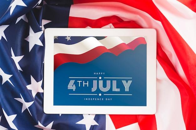 Jour de l'indépendance aux états-unis d'amérique. 4 juillet