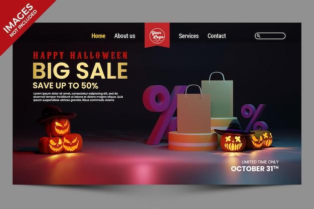 Joyeux halloween grande vente remise