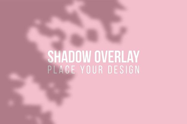 Laisse la superposition d'ombres et l'effet de superposition d'ombres de fenêtre concept transparent