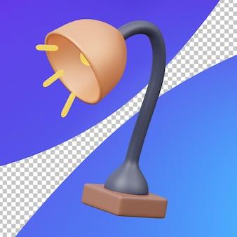 Lampe de bureau d'étude 3d
