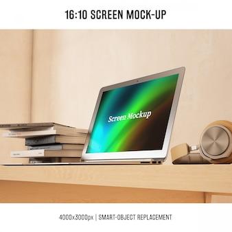 Laptop maquette conception