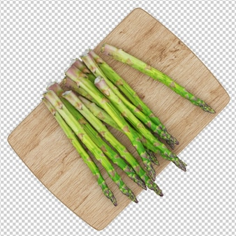 Légumes isométriques