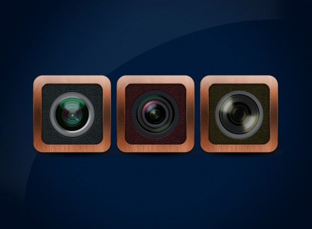 Lens lens icone psd