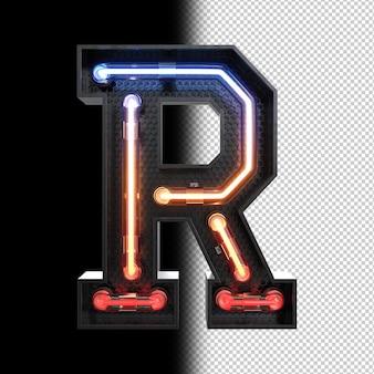 Lettre néon r