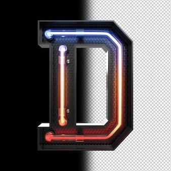 Lettre néon d
