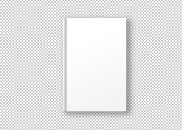 Livre blanc isolé