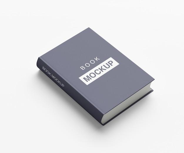 Livre à couverture souple ou maquette de magazine