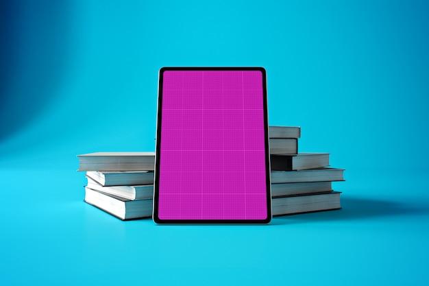 Livre maquette de tablette
