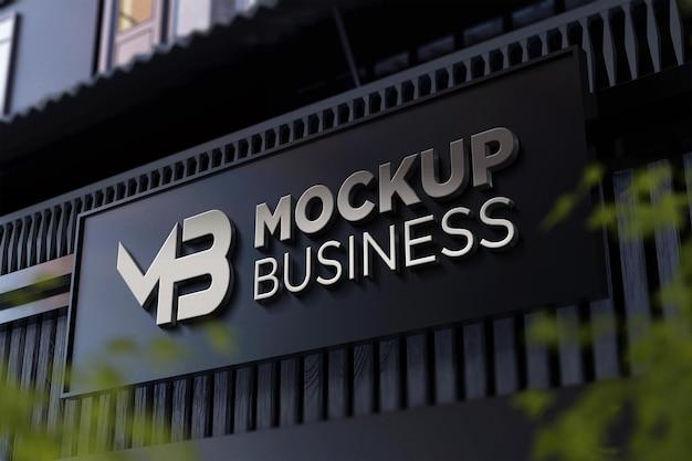 Logo-maquette-avec-effet-argent