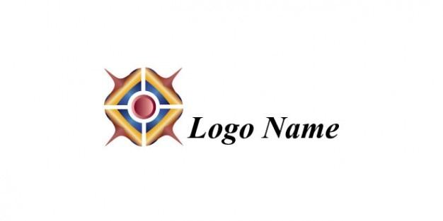 Logo modèle de conception avec le dard