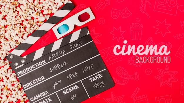 Lunettes 3d pour le cinéma