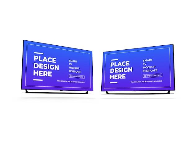 Maquette 3d smart tv
