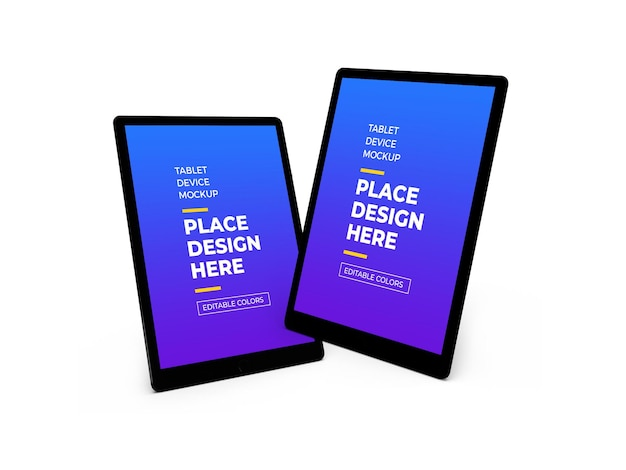 Maquette 3d De Tablette PSD Premium